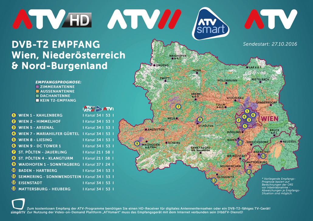 Dvb T2 Empfang Karte 2019.Atv Finalisiert Die Umstellung Auf Dvb T2 Mit 27 10 2016